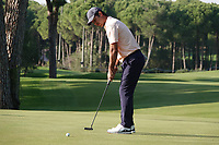 Jorge Campillo (ESP) during the third round of the Turkish Airlines Open, Montgomerie Maxx Royal Golf Club, Belek, Turkey. 09/11/2019<br /> Picture: Golffile | Phil INGLIS<br /> <br /> <br /> All photo usage must carry mandatory copyright credit (© Golffile | Phil INGLIS)