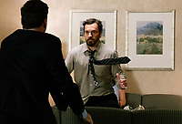 Tag (2018)  <br /> JON HAMM as Bob Callahan and JAKE JOHNSON as Randy &quot;Chilli&quot; Cilliano <br /> *Filmstill - Editorial Use Only*<br /> CAP/MFS<br /> Image supplied by Capital Pictures
