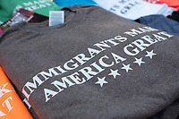 Merchandise lines the parade route along Constitution Avenue in Washington DC on July 4, 2019.<br /> CAP/MPI/CNP<br /> ©CNP/MPI/Capital Pictures