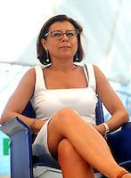 Paola De Micheli <br /> Genova 03-09-2013 Festa Nazionale Partito Democratico<br /> Photo  Genova Foto /Insidefoto