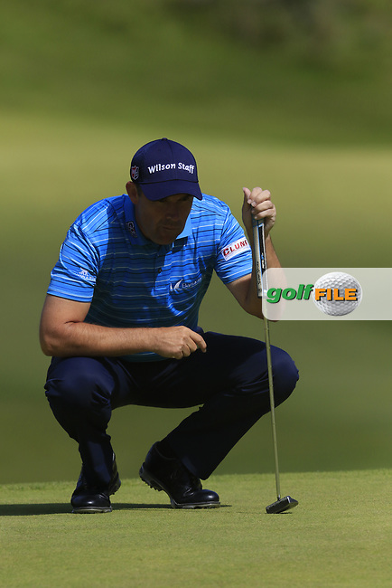 Padraig Harrington (IRL) on the 2nd green during Saturday's Round 3 of the 2017 Dubai Duty Free Irish Open held at Portstewart Golf Club, Portstewart, Co Derry, Northern Ireland. 08/07/2017<br /> Picture: Golffile | Eoin Clarke<br /> <br /> <br /> All photo usage must carry mandatory copyright credit (&copy; Golffile | Eoin Clarke)