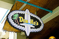 Famous Don Ho's restaurant draws visitors for an evening of fine dining and lively entertainment. Located in the Aloha Tower Marketplace, Oahu.