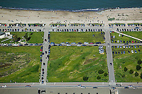 aerial photograph Crissy Field park Marina district San Francisco California