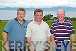 CAPTAIN'S PRIZE: Competing in the Ballyheigue Castle Golf Club Captain's Prize on Sunday l-r: Brendan Dunne, Padraig Casey and Ber Hehir.   Copyright Kerry's Eye 2008