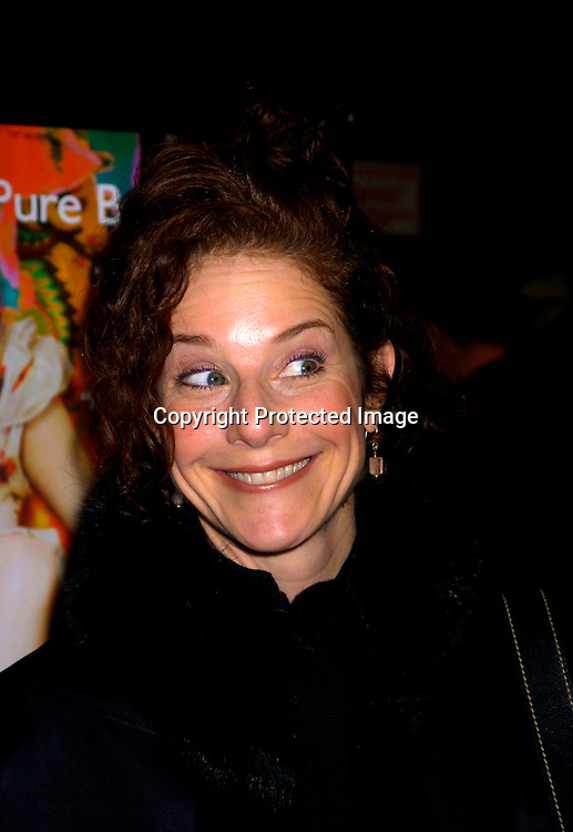Debra Winger..at the New York Premiere of The Dreamers on February 3, 2004 at the Beekman theatre. Photo by Robin Platzer, Twin ..Images