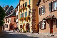 France, Alsace, Haut-Rhin, Gueberschwihr: old town | Frankreich, Elsass, Haut-Rhin, Gueberschwihr: Altstadt