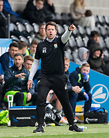 Barnet Caretaker Manager Rossi Eames during the Sky Bet League 2 match between Barnet and Wycombe Wanderers at The Hive, London, England on 17 April 2017. Photo by Andy Rowland.