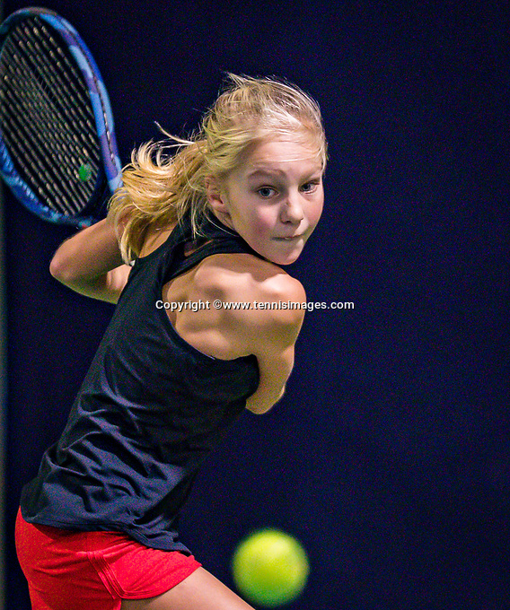 Hilversum, Netherlands, December 2, 2018, Winter Youth Circuit Masters, Jinte de Boer (NED)<br /> Photo: Tennisimages/Henk Koster