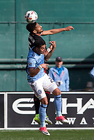Washington, D.C. - Saturday April 8, 2017: D.C. United defeated New York City FC 2-1 in a MLS match at RFK Stadium.