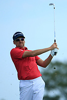 Ian Poulter (ENG) during the third round of the Northern Trust, played at Liberty National Golf Club, Jersey City, New Jersey, USA 10/08/2019<br /> Picture: Golffile | Michael Cohen<br /> <br /> All photo usage must carry mandatory copyright credit (© Golffile | Phil Inglis)