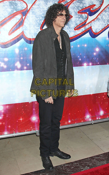 """Howard Stern.""""America's Got Talent"""" Los Angeles Auditions held at the Pantages Theatre, Los Angeles, California, USA..April 24th, 2013.full length black waistcoat grey gray trousers profile jacket sunglasses shades tinted glasses .CAP/ADM/RE.©Russ Elliot/AdMedia/Capital Pictures."""