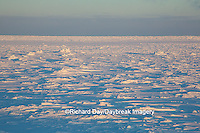 60595-01120 Sunset over Hudson Bay, Cape Churchill, Wapusk National Park near Churchill, MB Canada