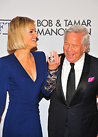 NEW YOKR, NY - NOVEMBER 7: Dana Blumberg and Robert Kraft at The Elton John AIDS Foundation's Annual Fall Gala at the Cathedral of St. John the Divine on November 7, 2017 in New York City. <br /> CAP/MPI/JP<br /> &copy;JP/MPI/Capital Pictures