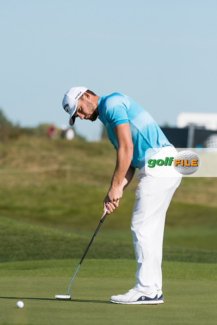 Haydn Porteous (RSA) in action on the 6th hole during the 3rd round at the KLM Open, The International, Amsterdam, Badhoevedorp, Netherlands. 14/09/19.<br /> Picture Stefano Di Maria / Golffile.ie<br /> <br /> All photo usage must carry mandatory copyright credit (© Golffile   Stefano Di Maria)