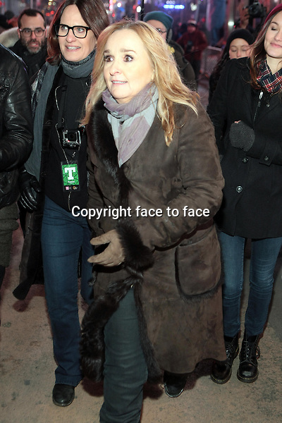 New York, NY-December 31: Melissa Etheridge at the 2014 New Years Eve Celebration held in Times Square on December 31, 2013 in New York City.<br /> Credit: MediaPunch/face to face<br /> - Germany, Austria, Switzerland, Eastern Europe, Australia, UK, USA, Taiwan, Singapore, China, Malaysia, Thailand, Sweden, Estonia, Latvia and Lithuania rights only -