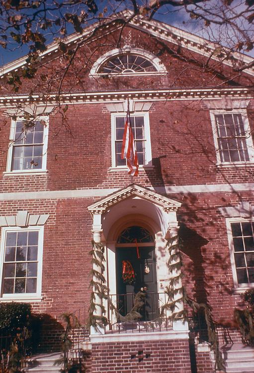 1975 December 23.Historical....MOSES MYERS HOUSE DOORWAY..NEG#.NRHA# 4950..