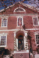 1975 December 23.Historical....MOSES MYERS HOUSE DOORWAY..NEG#.NRHA# 4950..