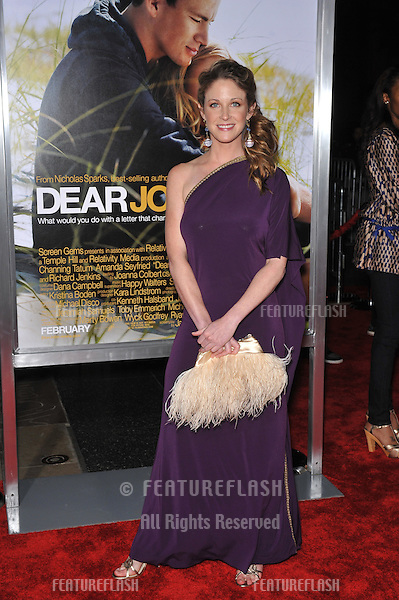"Leslea Fisher at the world premiere of ""Dear John"" at Grauman's Chinese Theatre, Hollywood..February 1, 2010  Los Angeles, CA.Picture: Paul Smith / Featureflash"