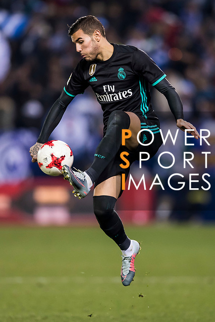 Daniel Ceballos Fernandez, D Ceballos, of Real Madrid in action during the Copa del Rey 2017-18 match between CD Leganes and Real Madrid at Estadio Municipal Butarque on 18 January 2018 in Leganes, Spain. Photo by Diego Gonzalez / Power Sport Images