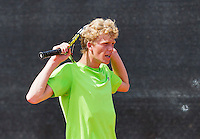 Netherlands, Rotterdam August 05, 2015, Tennis,  National Junior Championships, NJK, TV Victoria, Lars Schouten<br /> Photo: Tennisimages/Henk Koster