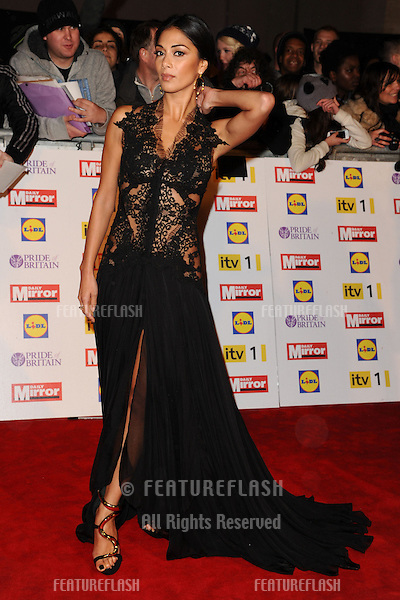 Nicole Scherzinger arriving for the 2012 Pride of Britain Awards, at the Grosvenor House Hotel, London. 29/10/2012 Picture by: Steve Vas / Featureflash
