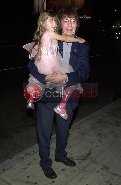 Bill Wyman and daughter Matilda