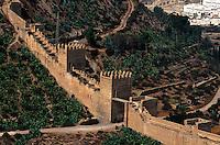 Spanien, Andalusien, maurische Festung Alcazaba in San Cristobal in Almeria