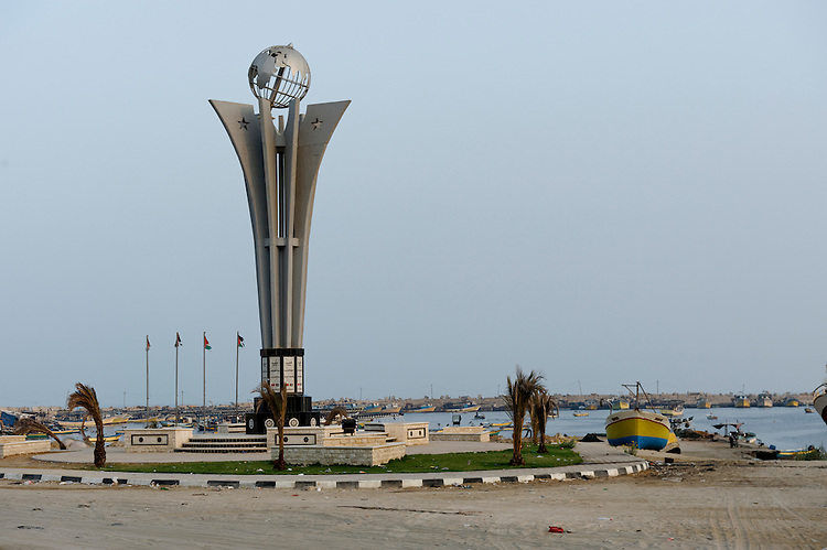 GAZA-JULY 12- Located in the heart of Gaza City, the only port still in activity.<br /> GAZA-JUILLET 12 - Situe au c&oelig;ur de la ville de Gaza, le seul port encore en activit&eacute;.