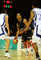 Cougars guard Paul Henare during the NBL match between the Wellington Saints and Christchurch Cougars at Te Rauparaha Stadium, Porirua, Wellington, New Zealand on Saturday 4 April 2009. Photo: Dave Lintott / lintottphoto.co.nz