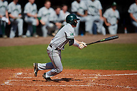 Dartmouth Big Green third baseman Steffen Torgersen (29) bats during a game against the Bradley Braves on March 21, 2019 at Chain of Lakes Stadium in Winter Haven, Florida.  Bradley defeated Dartmouth 6-3.  (Mike Janes/Four Seam Images)