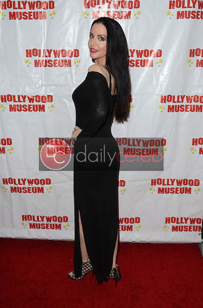 """Ivonna Cadaver at """"Child Stars - Then and Now"""" Exhibit Opening at the Hollywood Museum in Hollywood, CA on August 19, 2016. (Photo by David Edwards)"""