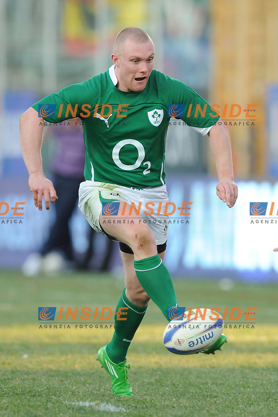 Keith Earls (Irlanda)<br /> Italia vs Irlanda 11-13<br /> Six Nations Rugby<br /> Stadio Flaminio, Roma, 05/02/2011<br /> Photo Antonietta Baldassarre Insidefoto