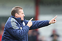 Preston manager Graham Westley. - Stevenage v Preston North End - npower League 1 - Lamex Stadium, Stevenage - 9th April, 2012. © Kevin Coleman 2012
