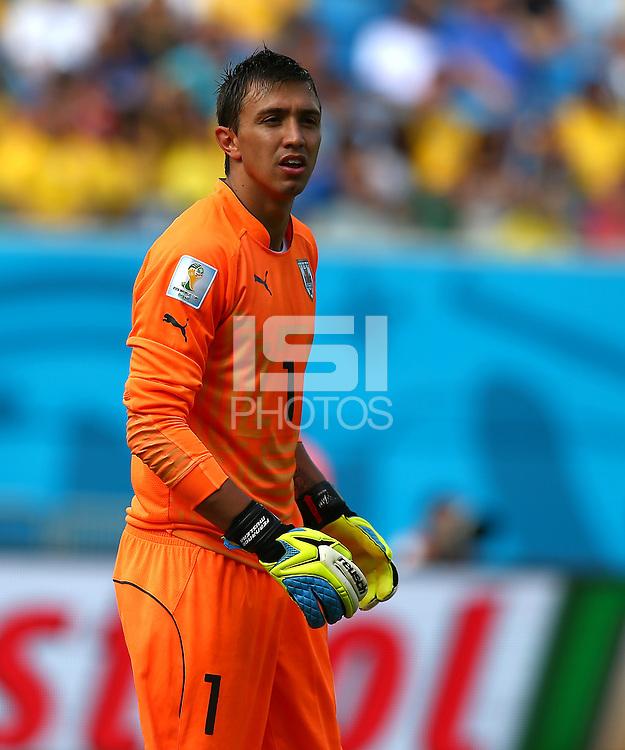 Uruguay goalkeeper Fernando Muslera