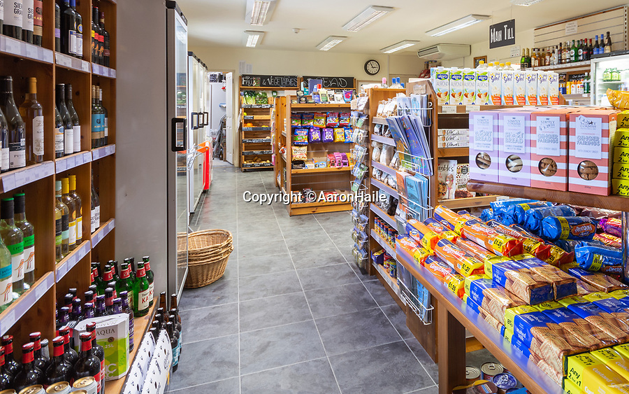 BNPS.co.uk (01202 558833)<br /> Pic:  AaronHaile/BNPS<br /> <br /> The general store on the island, which the couple now run.<br /> <br /> Not so scilly ...<br /> <br /> A couple who have swapped bustling London for the idyllic Isles of Scilly say they are loving their new life.<br /> <br /> Aaron Haile, 39, and her husband Mark Bothwick, 45, made the bold decision to quit the capital for the tiny island of Bryher off the Cornish coast.<br /> <br /> They have taken on the island's only general store which doubles as a post office for the outpost's 84 inhabitants - in stark contrast to London's 8.7million population.<br /> <br /> Their previous home was a two bedroom Lewisham flat in a tower block in south east London.