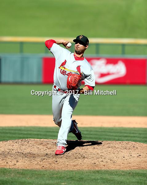 Arturo Reyes - Surprise Saguaros - 2017 Arizona Fall League (Bill Mitchell)