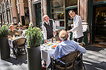 BRUSSELS - BELGIUM - 16 August 2016 --  Restaurant Taverne du Passage located in the  The Gallerie de la Reine-- PHOTO: Juha ROININEN / EUP-IMAGES Käyttöoikeus: vain ET brändi