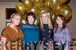Emma Cooper, Sheila Rahilly, Siobhan Casey and Ann Marie Moynihan at the Rathmore Strictly Come Dancing in the INEC on Saturday night