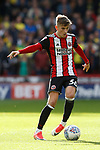 David Brooks of Sheffield Utd in action during the Championship match at Bramall Lane Stadium, Sheffield. Picture date 16th September 2017. Picture credit should read: Simon Bellis/Sportimage