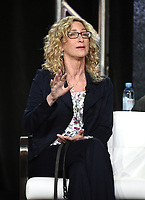"""PASADENA, CA - JANUARY 31: Consultant Lorri Bernson from """"In The Dark"""" during the CW portion of the 2019 Television Critics Association Winter Press Tour at the Langham Huntington on January 31, 2019, in Pasadena, California. (Photo by Frank Micelotta/PictureGroup)"""