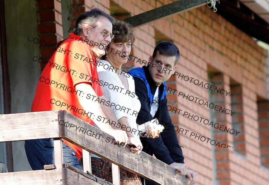 Fudbal Super liga season 2013-2014<br /> Javor v Crvena Zvezda <br /> Neboja Covic and Vesna Covic<br /> Ivanjica, 11.08.2013.<br /> foto: Srdjan Stevanovic/Starsportphoto &copy;