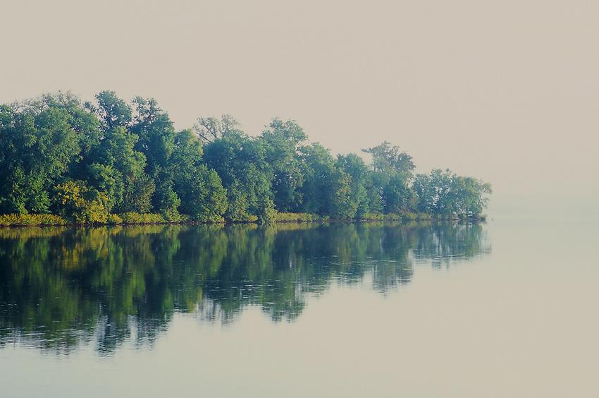 Potomac River, Fuji Velvia  35mm Film