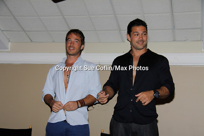 Live Auction - Ryan Carnes - Ryan Paivey -  Actors from Y&R, General Hospital donated their time to Southwest Florida 16th Annual SOAPFEST - a celebrity weekend May 22 thru May 25, 2015 benefitting the Arts for Kids and children with special needs and ITC - Island Theatre Co. as it presented A Night of Stars on May 23 , 2015 at Bistro Soleil, Marco Island, Florida. (Photos by Sue Coflin/Max Photos)