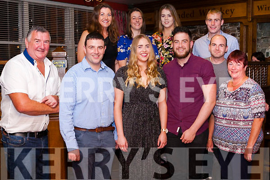 A triple Birthday celebration at Leen&rsquo;s Hotel last Saturday night for locals, Adam Roche 31, his sister Vicki 24 &amp; her boyfriend Robert Biggins 24.<br /> Front: Andy Roche, Adam,Vicki, Robert, Mary Roche.<br /> Back: Bernie Roche, Leona Fitzgerald,  Jillian Cummins, Brendan Roche &amp; wWillie Cremin.