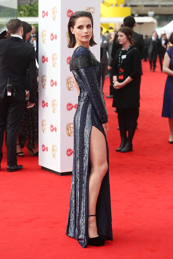 Charlotte Riley<br />  arriving at the Bafta Tv awards 2017. Royal Festival Hall,London  <br /> ©Ash Knotek