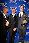 LOS ANGELES - JUN 20: Michael Barrett, Chris Prinzivalli, Michael Croiter at The 41st Daytime Creative Arts Emmy Awards Gala in the Westin Bonaventure Hotel on June 20th, 2014 in Los Angeles, California
