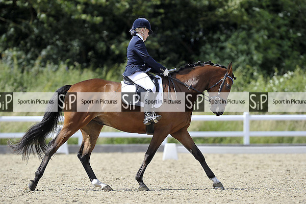 Class 6. British Dressage (BD). Brook Farm Training Centre. Essex. 24/06/2016. MANDATORY Credit Garry Bowden/Sportinpictures - NO UNAUTHORISED USE - 07837 394578