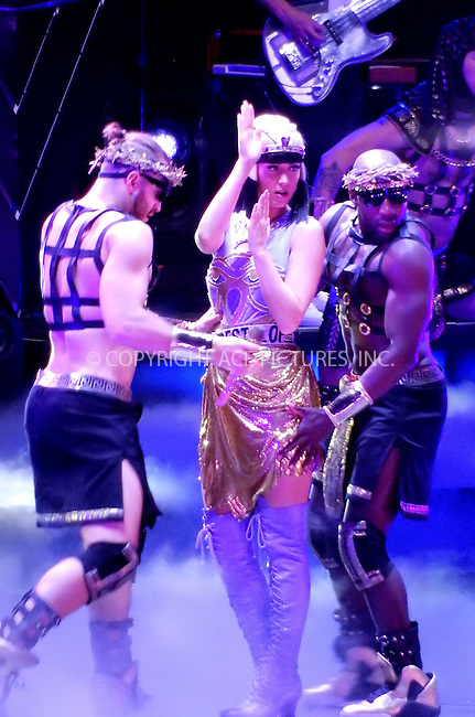 WWW.ACEPIXS.COM<br /> <br /> February 16 2015, Barcelona<br /> <br /> Katy Perry performs at Palau Sant Jordi on February 16 2015 in Barcelona, Spain<br /> <br /> By Line: Famous/ACE Pictures<br /> <br /> <br /> ACE Pictures, Inc.<br /> tel: 646 769 0430<br /> Email: info@acepixs.com<br /> www.acepixs.com