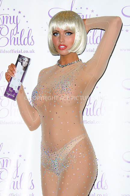 """WWW.ACEPIXS.COM . . . . .  ..... . . . . US SALES ONLY . . . . .....May 16 2012, London....British reality star Amy Childs at the launch of """"Amy Childs' Hair Vajazzles""""  on May 16 2012 in London ....Please byline: FAMOUS-ACE PICTURES... . . . .  ....Ace Pictures, Inc:  ..Tel: (212) 243-8787..e-mail: info@acepixs.com..web: http://www.acepixs.com"""