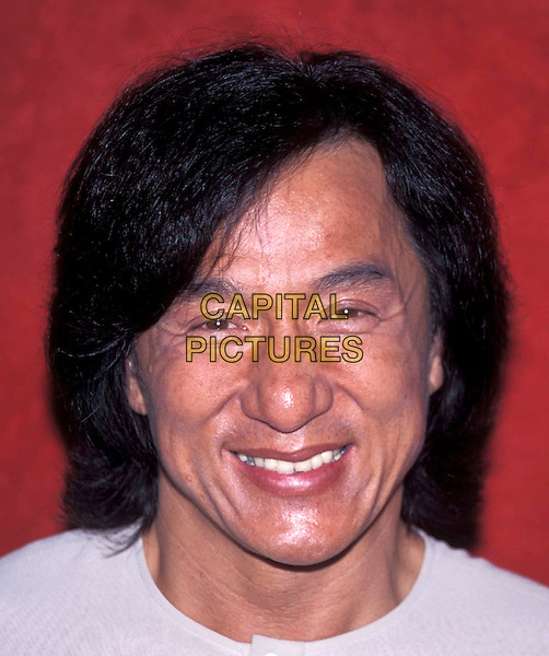 JACKIE CHAN.Ref: ND.headshot, portrait.*RAW SCAN - photo will be adjusted for publication*.www.capitalpictures.com.sales@capitalpictures.com.© Capital Pictures.